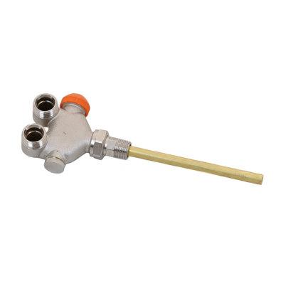 Herz radijatorski ventil dvocijevni okomiti kutni 1/2¨