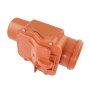 Žablji poklopac za kanalizaciju 125 mm - Nepovratni ventil