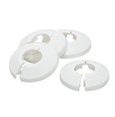 Plastični prstenovi za prekrivanje spojevacijevi s podom, zidom ili stropom- PVC rozete