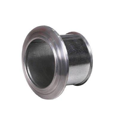 Aluminijska dimovodna rozeta+uzidnica