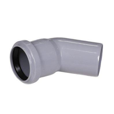 PVC kanalizacijsko koljeno fi 110/45°