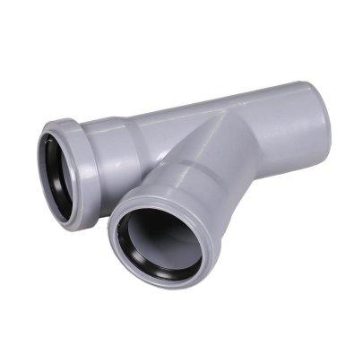 PVC račva fi 75/75/45°