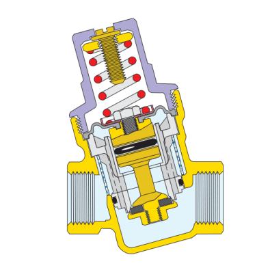 oblik membrane caleffi regulatora tlaka