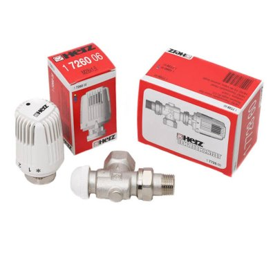 termostatski ventil i termostatska glava