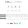 Copa radijatori - Specifikacije
