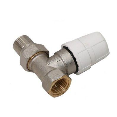 "Radijatorski termostatski ravni ventil (tijelo) 3/8"""