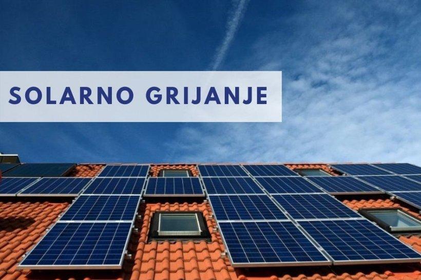 Solarni sustav za pripremu potrošne tople vode i grijanja