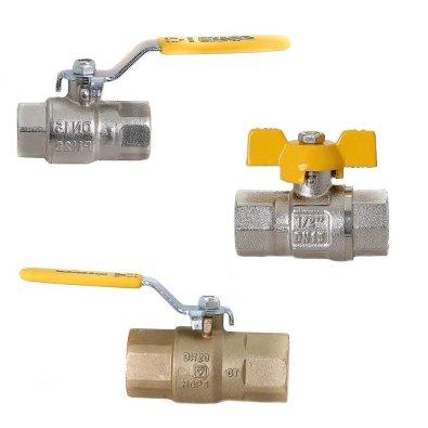 Kuglasti ventili za plin