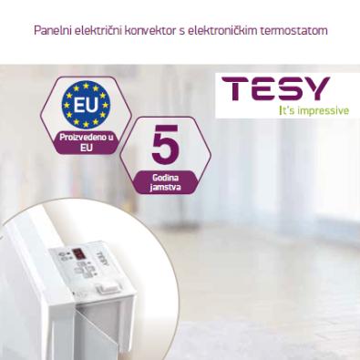 TESY - Proizvedeno u EU, 5 godina jamstva!