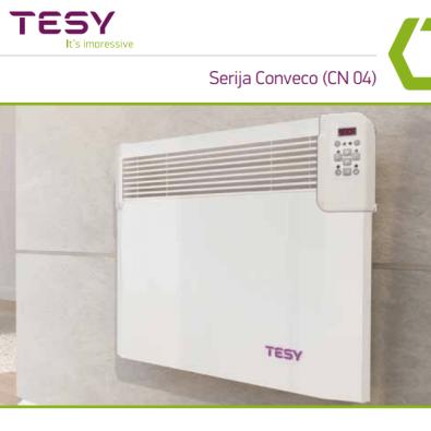 TESY električna grijalica s elektroničkim termostatom