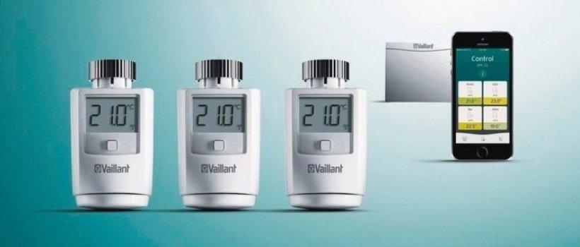 Vaillant termostatske glave - ambiSENSE sustav