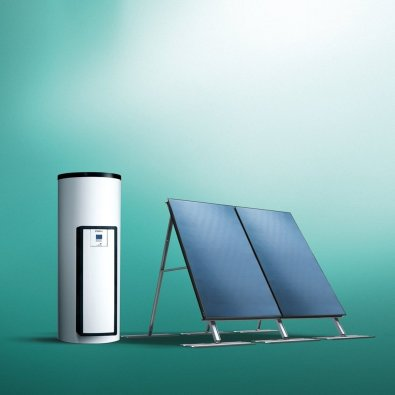 """Solarni paket auroSTEP plus""""drain-back"""" sa zaštitom od pregrijavanja"""
