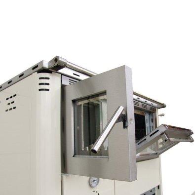 Senko štednjak - bočna strana štednjaka