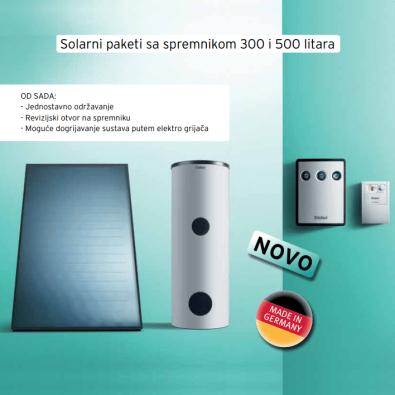 Solarni paketi sa spremnikom Vaillant