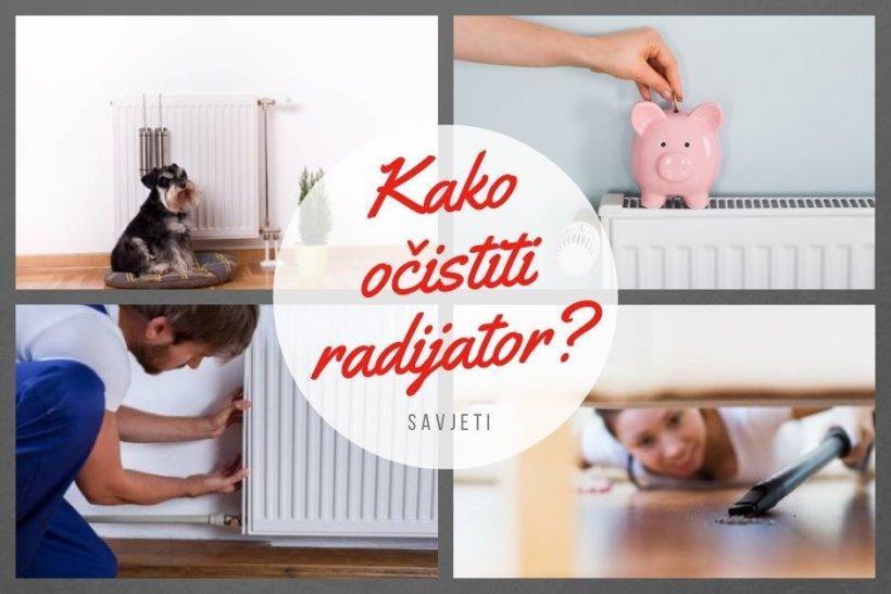 Kako očistiti radijator od prašine?