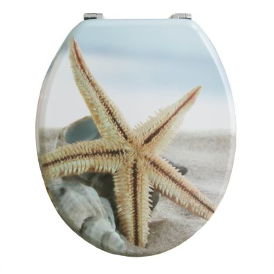 WC daska MDF - Morska zvijezda