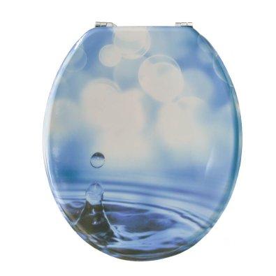 WC daska MDF - Plava kap