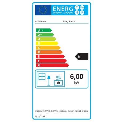 Energetska oznaka Peć Alfa Elita 2
