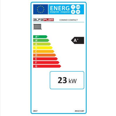 Energetska oznaka - Commo Compact