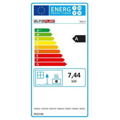 Energetska oznaka - Peć Alfa Elita 3