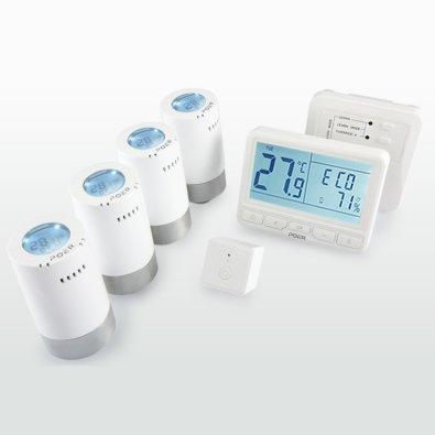 WiFi termostatske glave Poer i bežični termostat Poer
