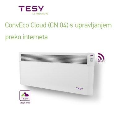 Wi-Fi električni radijator TESY