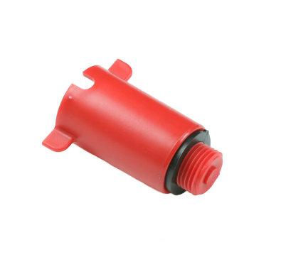 """PVC čep 3/4"""" - crveni"""