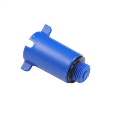 """PVC čep 3/4"""" - plavi"""