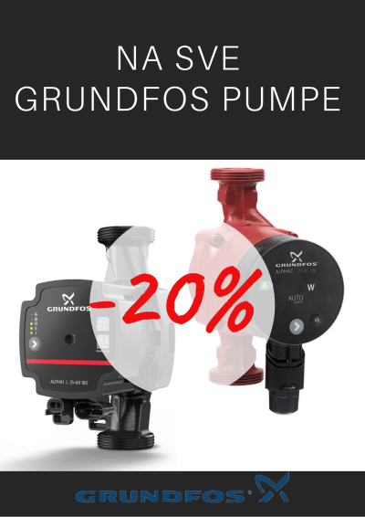GRUNDFOS PUMPE - BLACK FRIDAY CRNI PETAK POPUST
