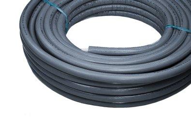 Pex-Al-Pex cijev s izolacijom fi 20, cijevi za vodu, siva