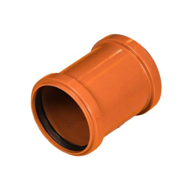 PVC klizna spojka 160 mm narančasta