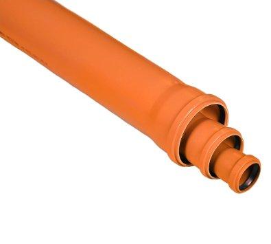 PVC cijev za odvodnju narančasta