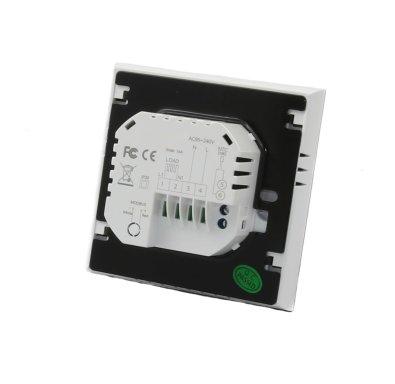 Termostat za električno podno grijanje - stražnja strana