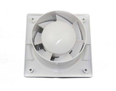 Kupaonski ventilator - stražnja strana