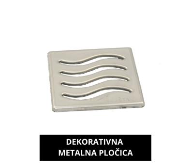 Podni sifon - metalna rešetka