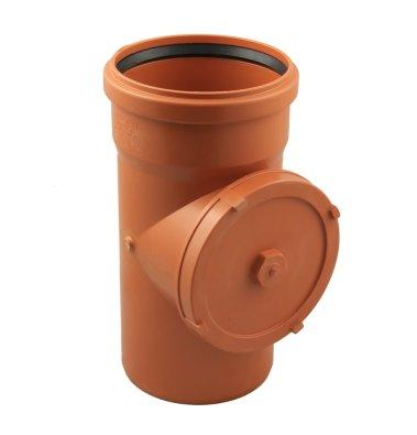 PVC kanalizacijska revizija FI 160 narančast