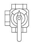 Vaillant ventil VRM-3 9234