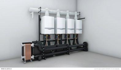 Plinski kondenzacijski bojler ecoTEC plus - kaskada