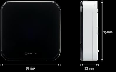Salus bežični senzor temperature iT 300 - dimenzije