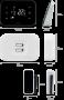 Wi - Fi termostat Salus iT500 - dimenzije